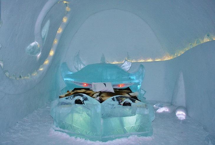 Surviving A Night In The Ice Hotel Kiruna Sweden