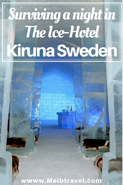 Pinterest, Surviving a night in the Ice-Hotel, Kiruna Sweden