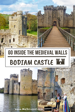 Guide to visiting inside Bodiam Castle England