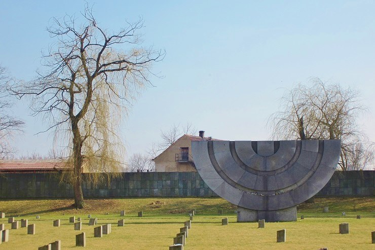 Memorial to victims of Terezin Concentration Camp