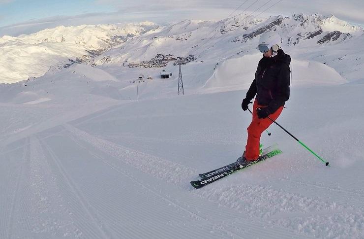 Skiing Val Thorens Ski Resort France