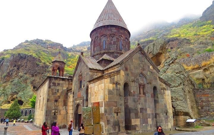 geghard medieval monastery
