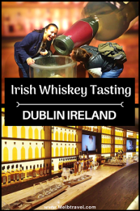 pinterest Irish whiskey tasting Dublin