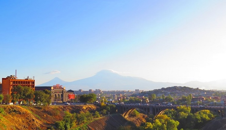 view of Mt Ararat