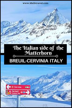 Cervinia Matterhorn Italy Skiing