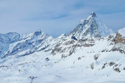 Italianside of the Matterhorn Skiing Italy