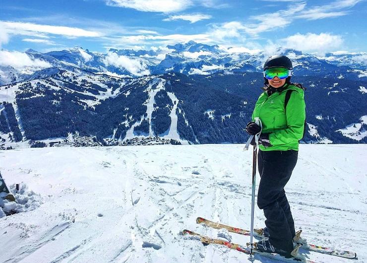 Les Gets Ski Resort, France