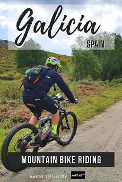 Mountain Bike Riding in Galicia Spain Europe Adventure
