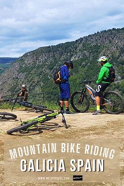 Mountain Bike riding in Galicia Spain Outdoor Adventure