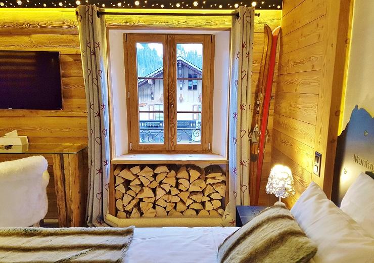 Inside my hotel room Champéry Switzerland