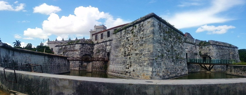 Forts at the entrance to Havana harbour