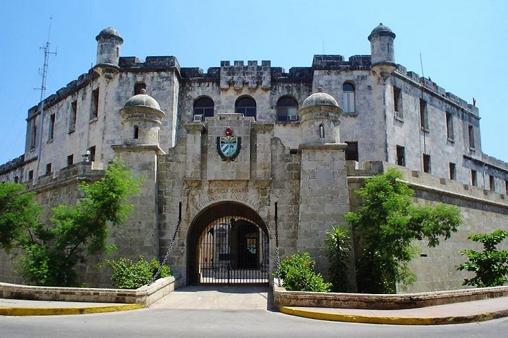 The entrance to the Castillo de la Real Fuerza - fun facts about havana