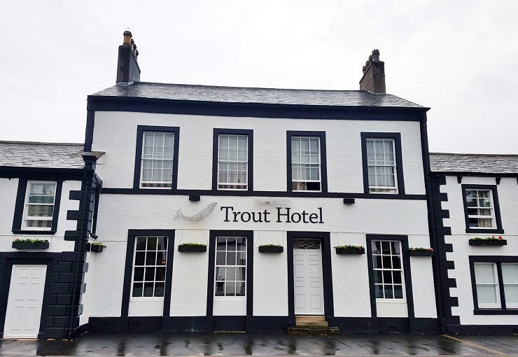 Trout Hotel Cockermouth Lakes District England