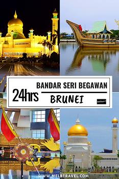 24hrs in Brunei Asia Pinterest