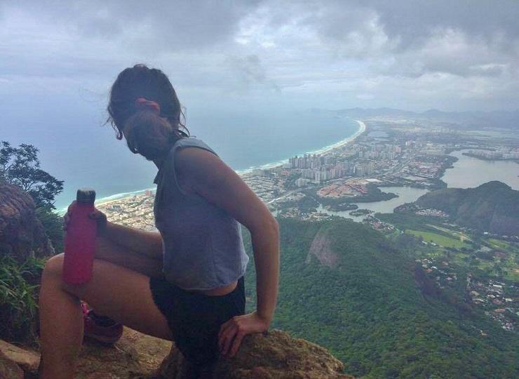 View of Rio de Janeiro after hiking Pedra da Gavea