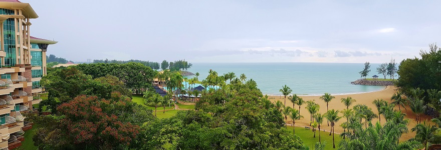 Beach view from TheEmpire Hotel& Country Club