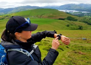 Hiking Casio Protrek watch in the great outdoors of the lakes district