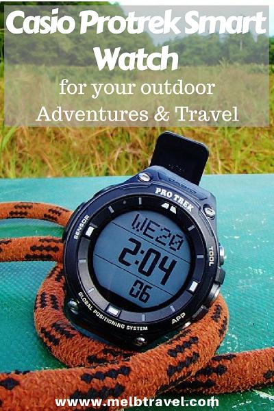Pinterest, Casio Protrek Smart Watch for you outdoor adventures and travel