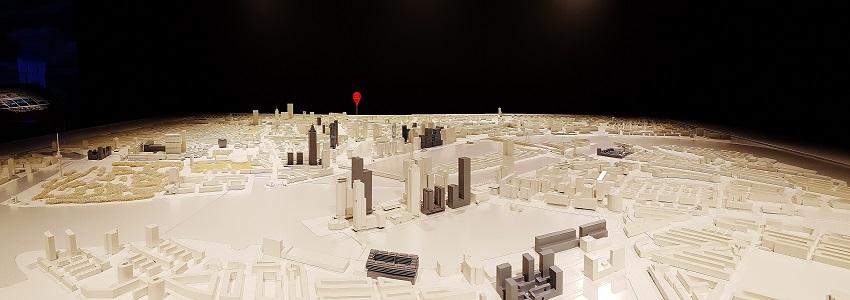 Scale model of Rotterdam