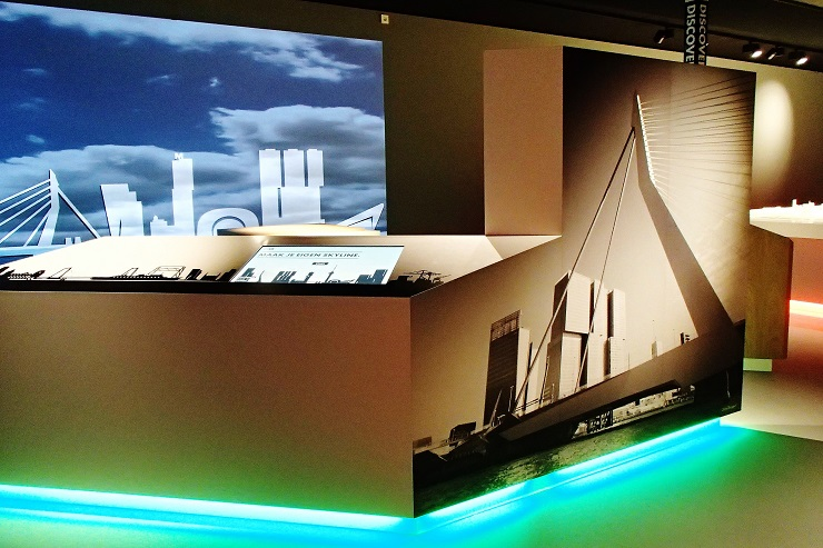 Inside the Rotterdam Discovery Exhibition