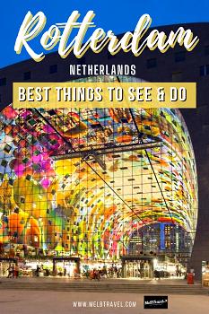 Things to do Rotterdam Netherlands Pinterest