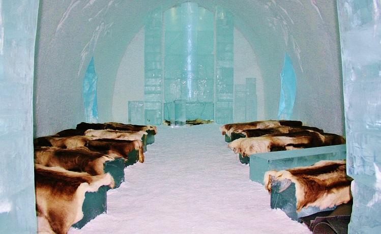 Church Ice Hotel Sweden
