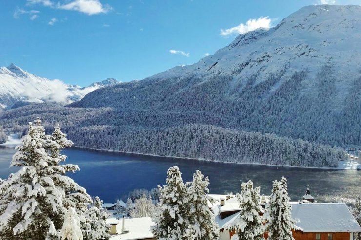 St Moritz Ski Resort Switzerland