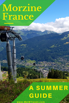 Activities during summer in Morzine