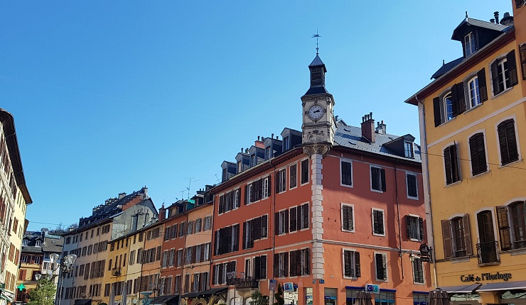 Chambery old town buildings - Things to do in chambery France