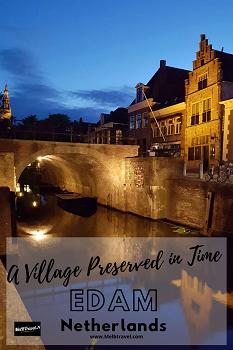 Netherlands Edam Village Pinterest