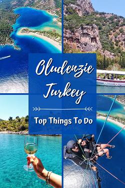 Top Things to do Oludeniz Turkey