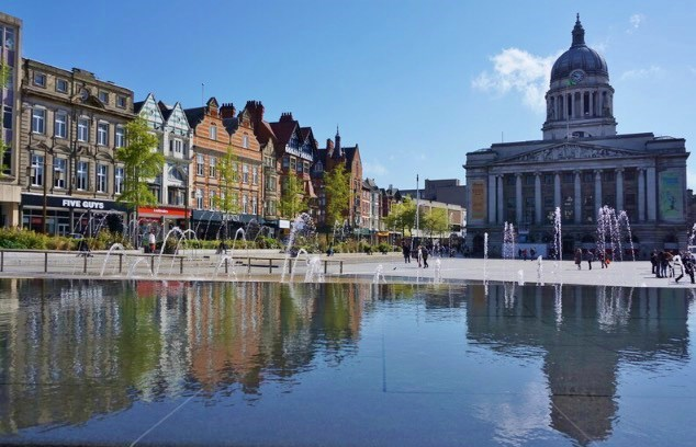 Nottingham town Centre