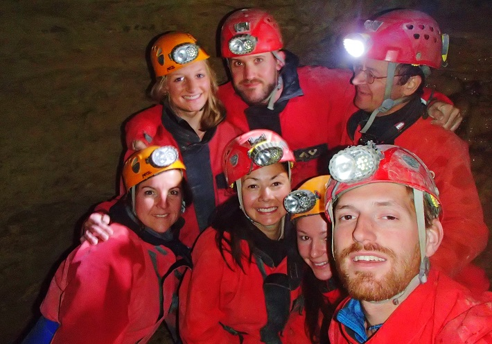 Caving France