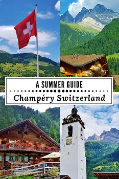 Pinterest Guide Champery Switzerland