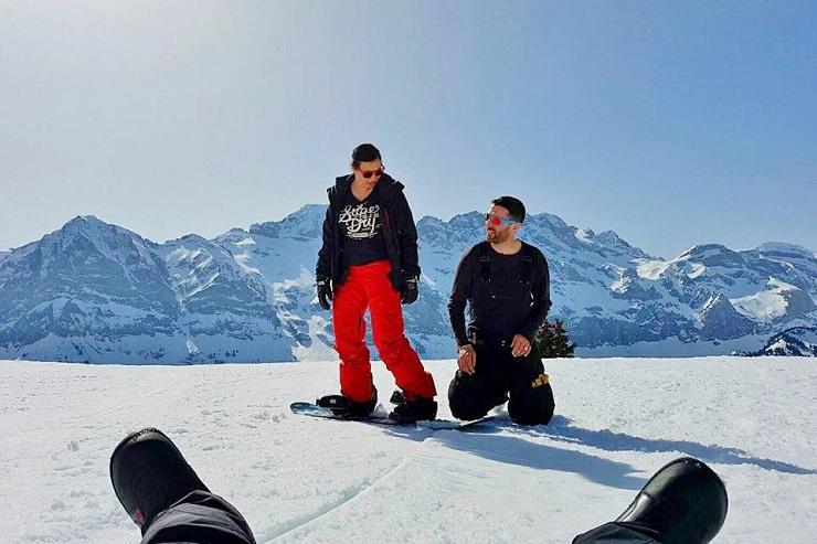 Snowboarding London 2018 - YouTube