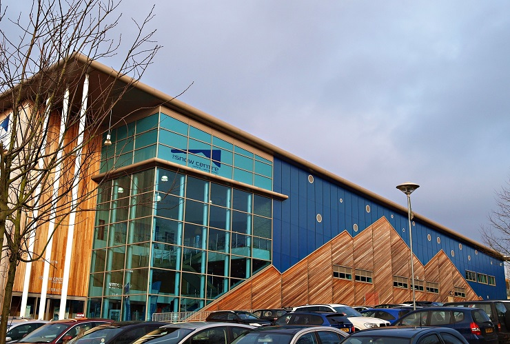 Outside view of the Snow Centre