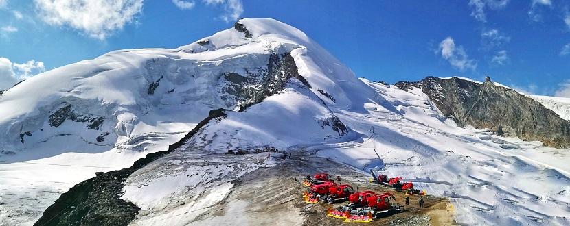Saas Fee Ski Resort Switzerland