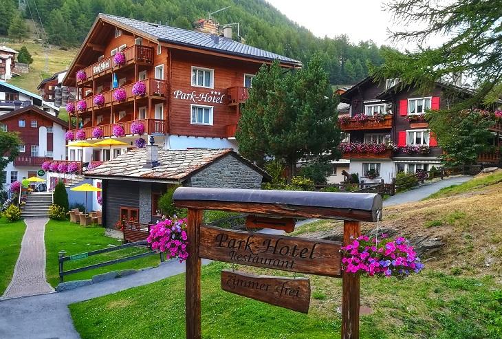 Park Hotel Saas Fee Switzerland Skiing Hiking
