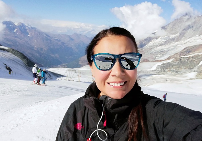 A Summer Winter Sports Region Saas-Fee Switzerland