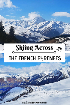 French Pyrenees Skiing Europe