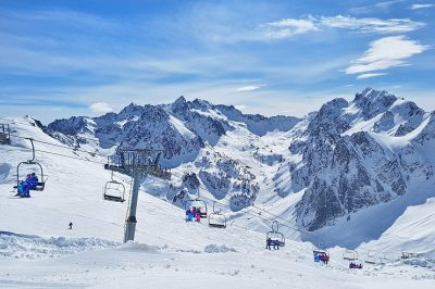 Saint Lary Skiing France