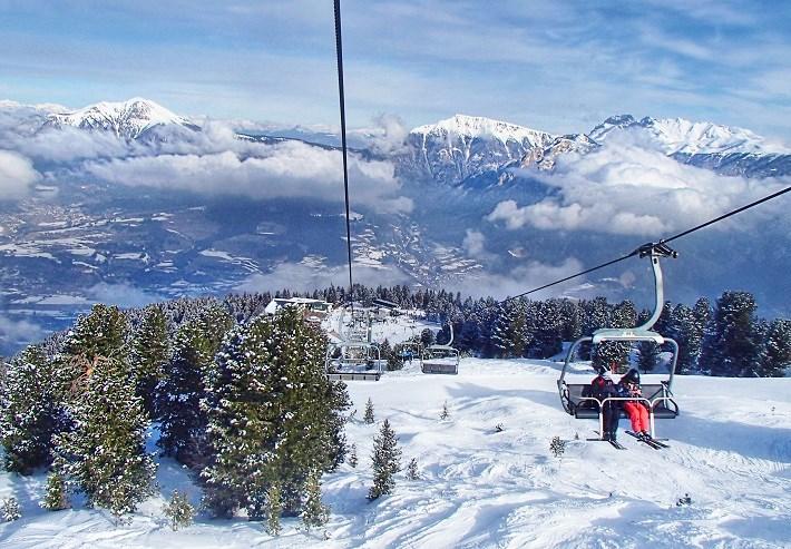 Val Di Fiemme Ski Resort Italy