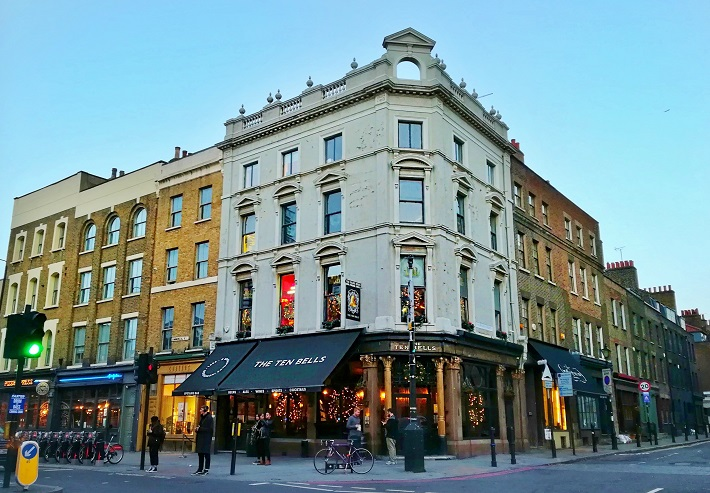 The Ten Bells London England History - jack the ripper tours london