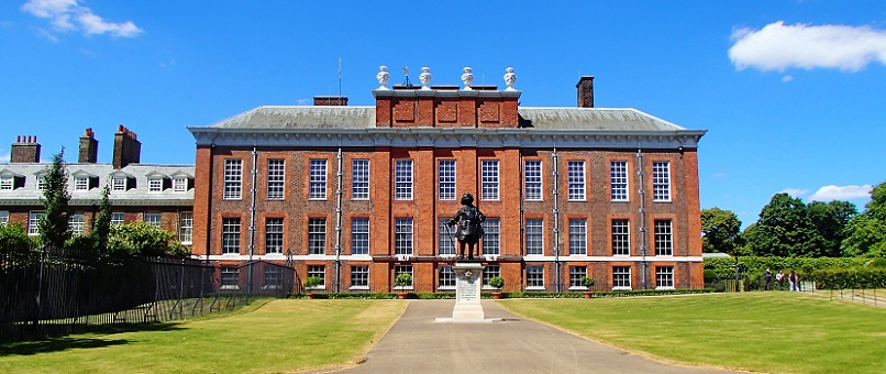 The front of Kensington Palace London History