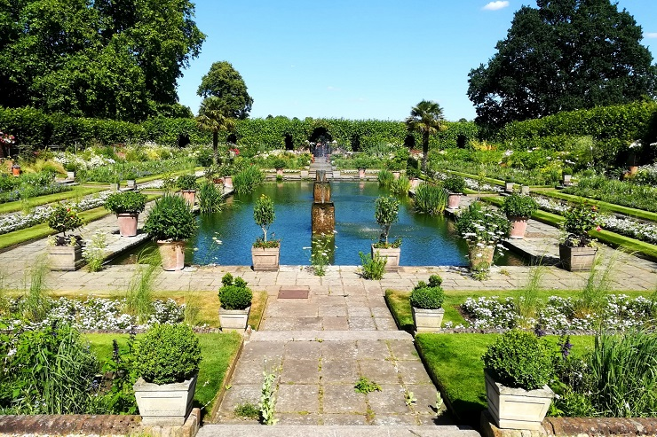 Sunken Garden Kensington Palace London England
