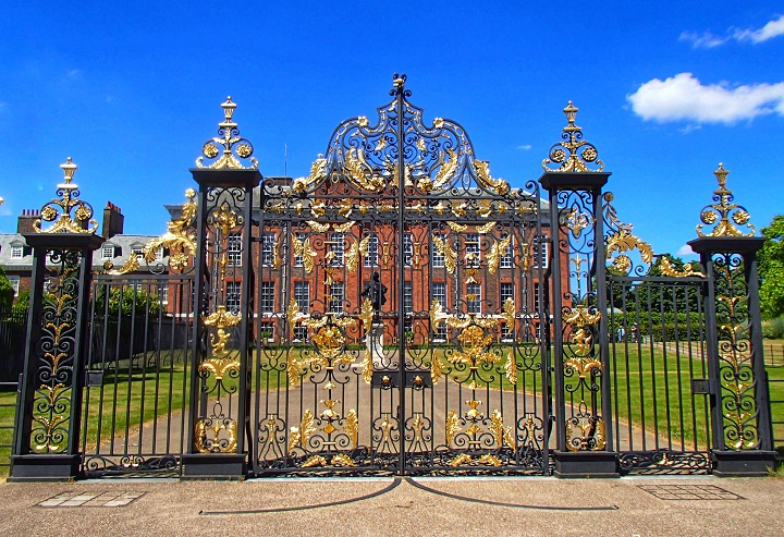 The Golden Gates Kensington Palace London History