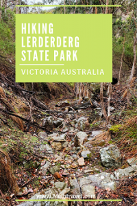 Hiking Trails Lerderderg State Park Melbourne Australia