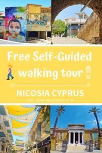 Self-guided tour Nicosia Cyprus
