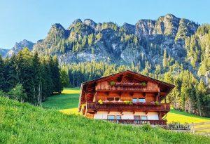 Hiking about Alpbach Austria
