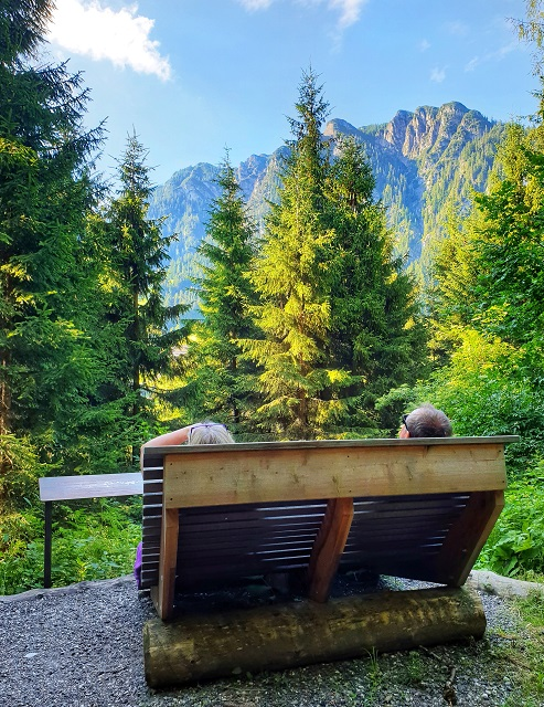 Path of Contemplation Hiking Alpbach Austria Tyrol